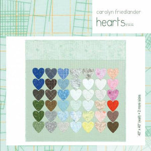 Hearts Quilt Paper Pattern from Carolyn Friedlander - brewstitched.com