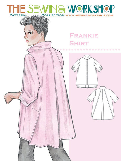 Frankie Shirt Paper Pattern from The Sewing Workshop - brewstitched.com