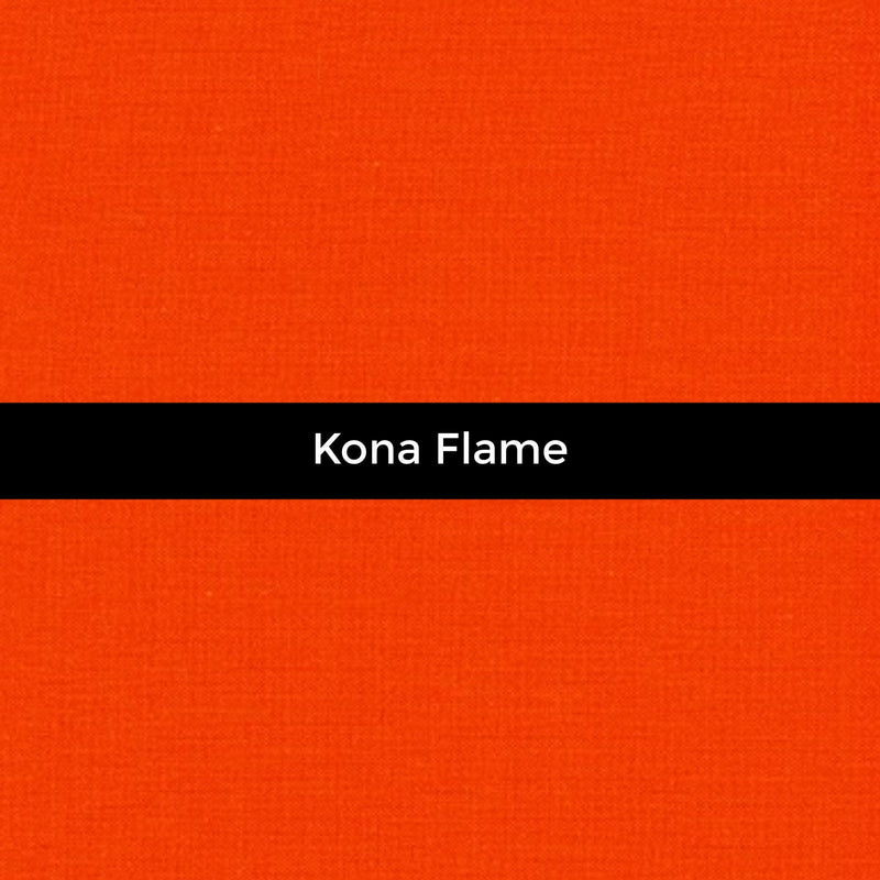 Kona Flame - Priced by the Half Yard - brewstitched.com