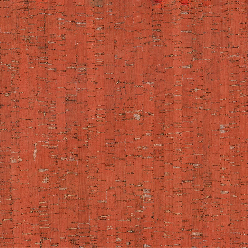 Red and Silver Cork Fabric 18 x 15 inch Sheet - brewstitched.com