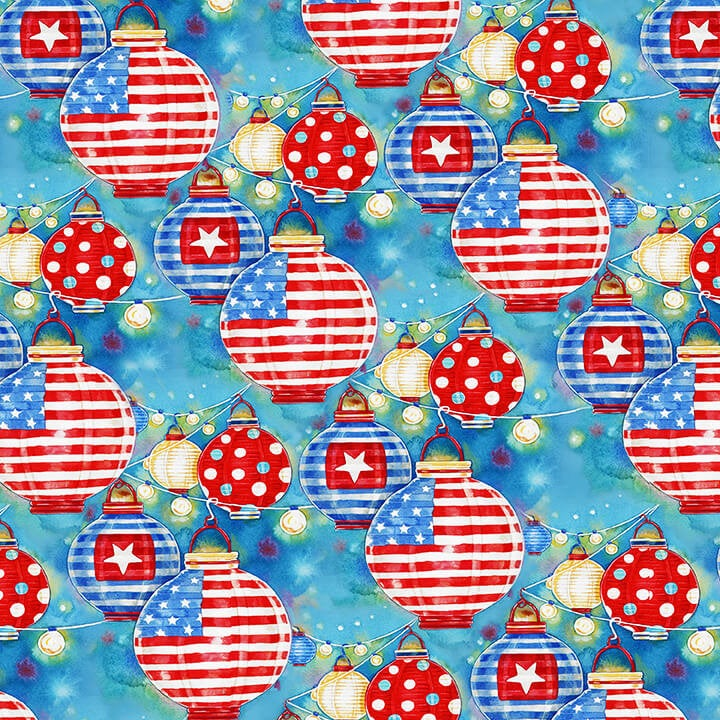 Star Spangled Summer Lanterns - brewstitched.com