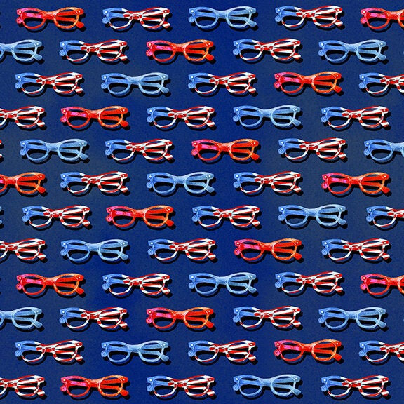 Star Spangled Summer Summer Eye Glasses - brewstitched.com