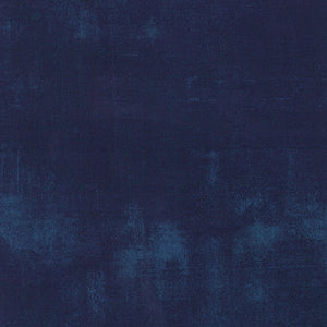 Grunge Navy - Priced by the Half Yard - brewstitched.com