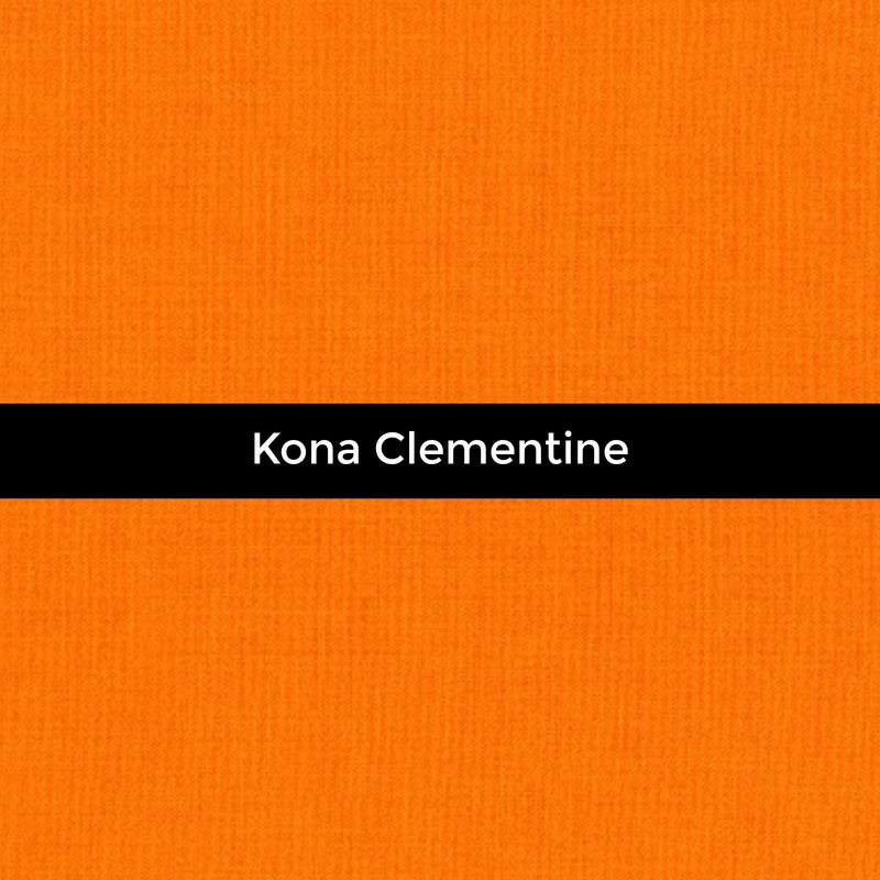Kona Clementine - Priced by the Half Yard - brewstitched.com