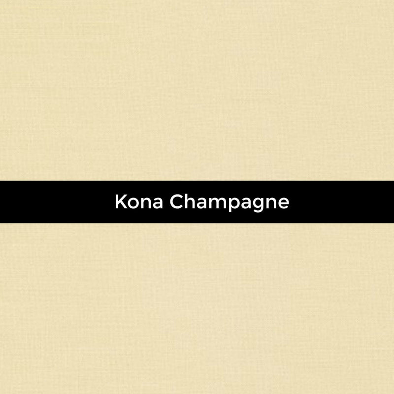 Kona Champagne - Priced by the Half Yard - brewstitched.com