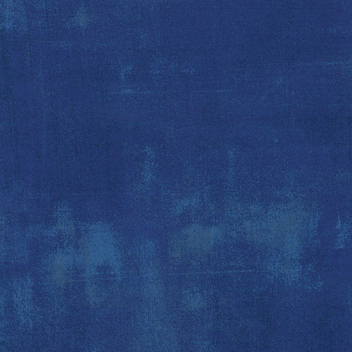Grunge Cobalt - Priced by the Half Yard - brewstitched.com