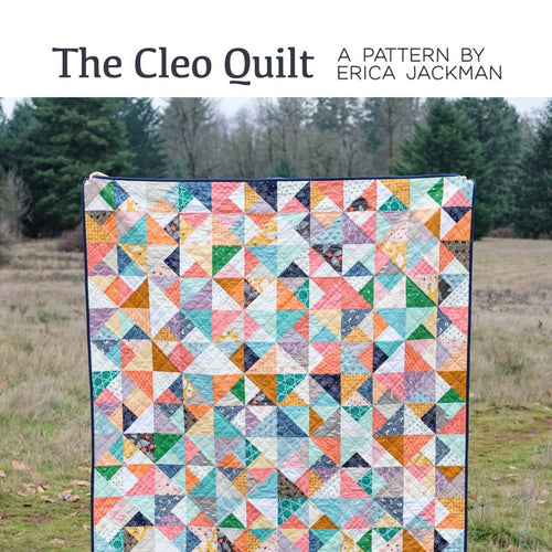 The Cleo Quilt Paper Pattern by Kitchen Table Quilting - brewstitched.com