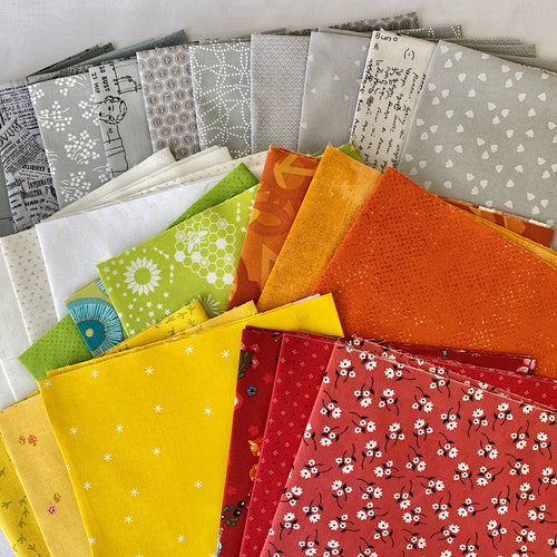 Quiltville Grassy Creek Mystery Quilt Bundle 2020 - Includes 26 Prints - brewstitched.com