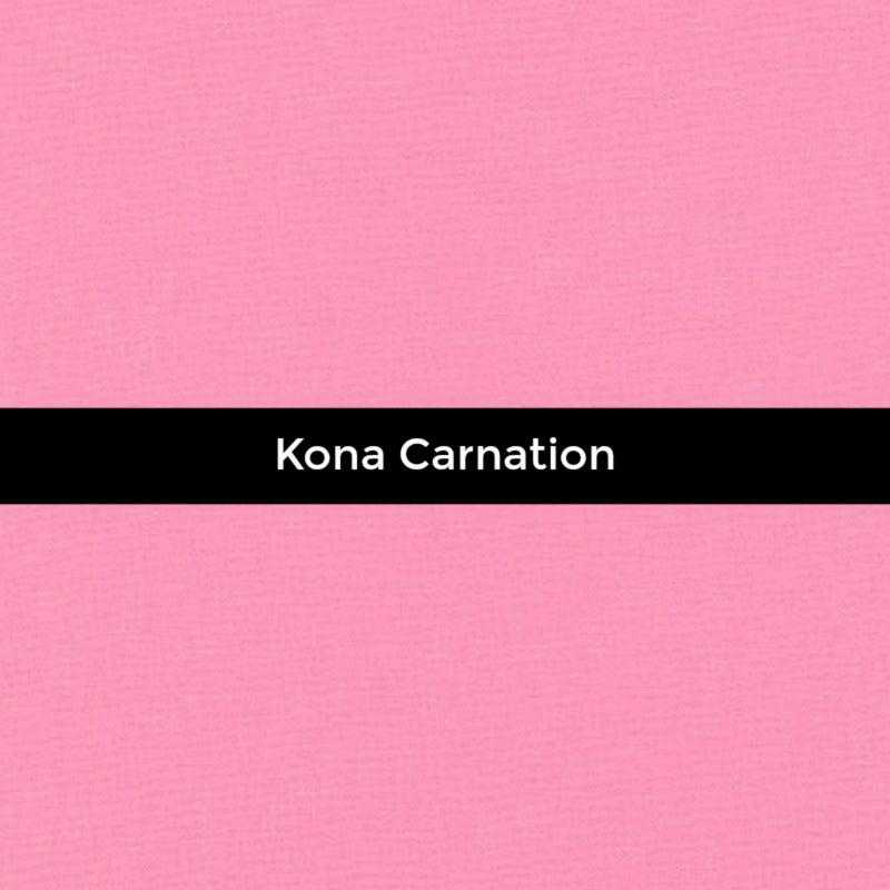 Kona Carnation - Priced by the Half Yard - brewstitched.com