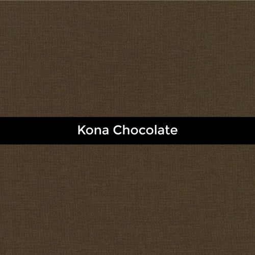 Kona Chocolate - Priced by the Half Yard - brewstitched.com