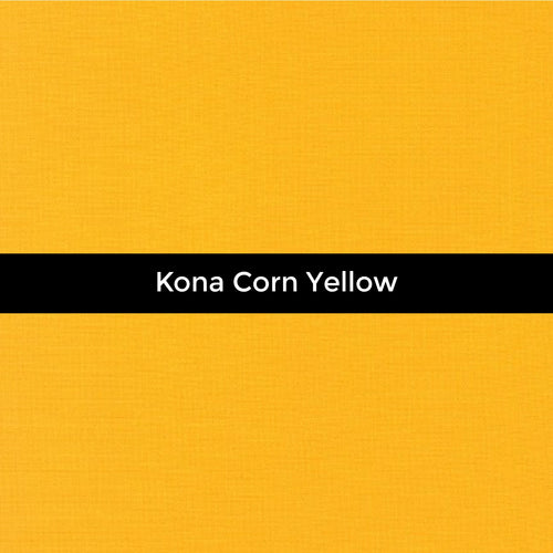 Kona Corn Yellow - Priced by the Half Yard - brewstitched.com