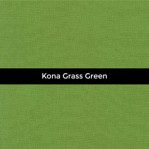 Kona Grass Green - Priced by the Half Yard - brewstitched.com
