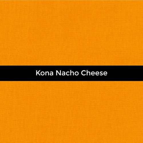 Kona Nacho Cheese - Priced by the Half Yard - brewstitched.com