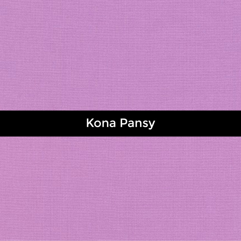 Kona Pansy - Priced by the Half Yard - brewstitched.com