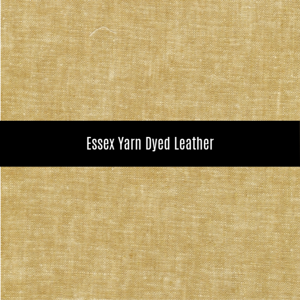Essex Yarn Dyed Linen in Leather - Priced by the Half Yard - brewstitched.com