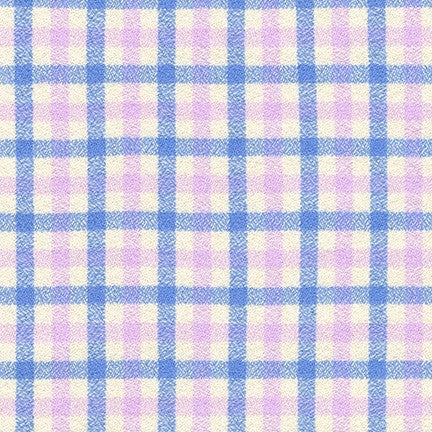 Mammoth Junior Flannel Periwinkle - Priced by the Half Yard - brewstitched.com