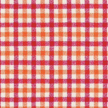 Mammoth Junior Flannel Strawberry - Priced by the Half Yard - brewstitched.com