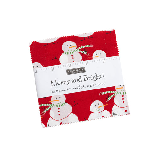 Merry and Bright Charm Pack - brewstitched.com
