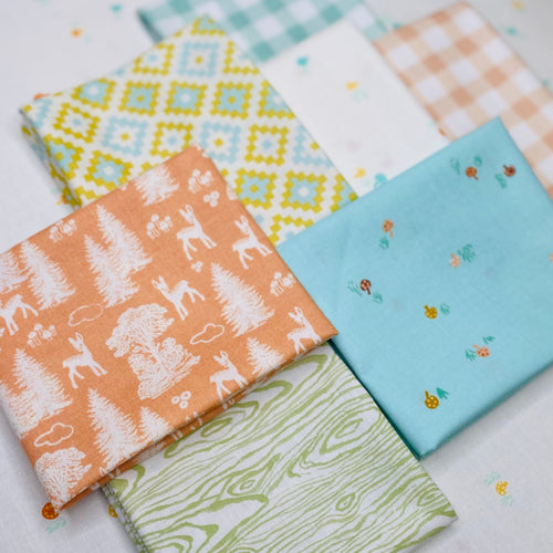 Oh Deer Fat Quarter Bundle - Includes 7 Prints - brewstitched.com