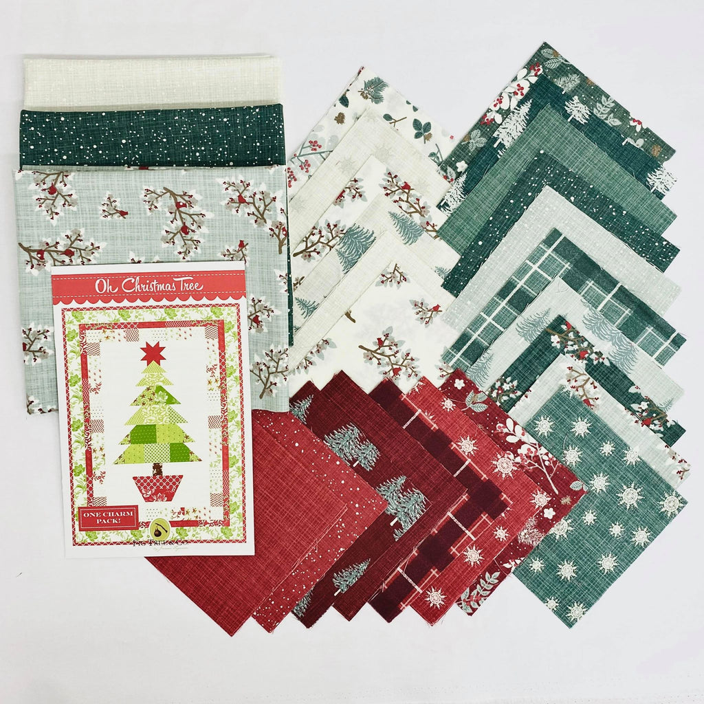 Oh Christmas Tree Juniper Quilt Kit - brewstitched.com