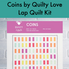 Coins Quilt by Quilty Love Throw Quilt Kit - brewstitched.com