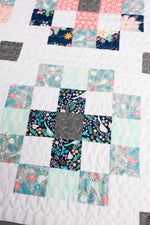 Crossroads Quilt Paper Pattern from Quilty Love - brewstitched.com