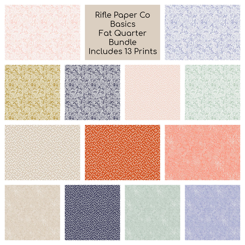 Rifle Paper Co. Basics Fat Quarter Bundle - brewstitched.com
