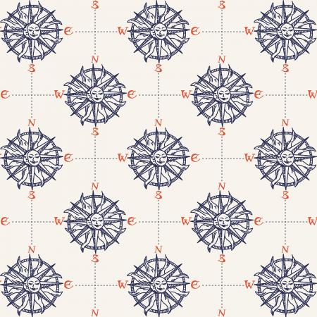 Smooth Seas Compass Atlantic - Priced by the Half Yard - Expected Feb 2021 - brewstitched.com