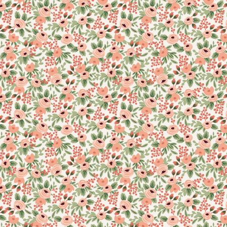 Garden Party - Rosa - Rose Fabric  - Priced by the Half Yard - Coming Jan 2021 - brewstitched.com