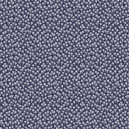 Rifle Paper Co. Basics Tapestry Dot Navy - Priced by the Half Yard - brewstitched.com