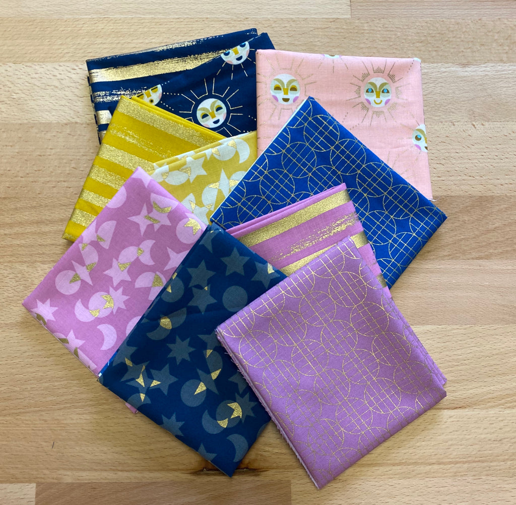 Stellar Fat Eighth Bundle -  Includes 10 Fat Quarters