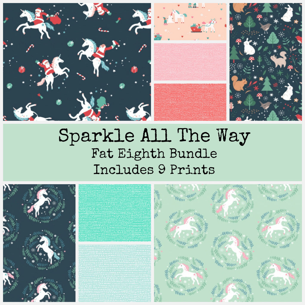 Sparkle All The Way Fat Eighth Bundle - brewstitched.com