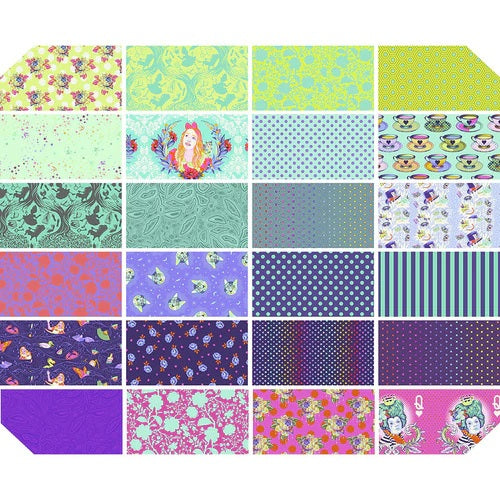 Curiouser and Curiouser Daydream by Tula Pink Fat Quarter Bundle - Reservation Fee - brewstitched.com