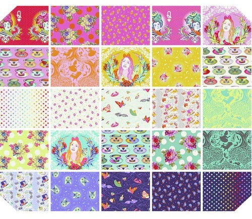 Curiouser and Curiouser by Tula Pink Fat Quarter Bundle - Reservation Fee - brewstitched.com