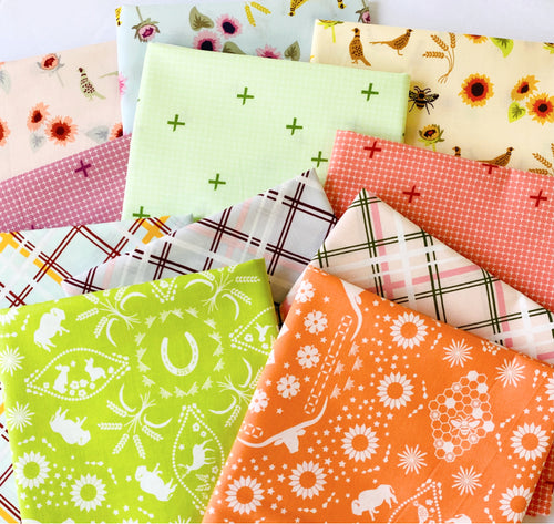 Buffalo Flats Fat Quarter Bundle -  Includes 11 Fat Quarters - brewstitched.com