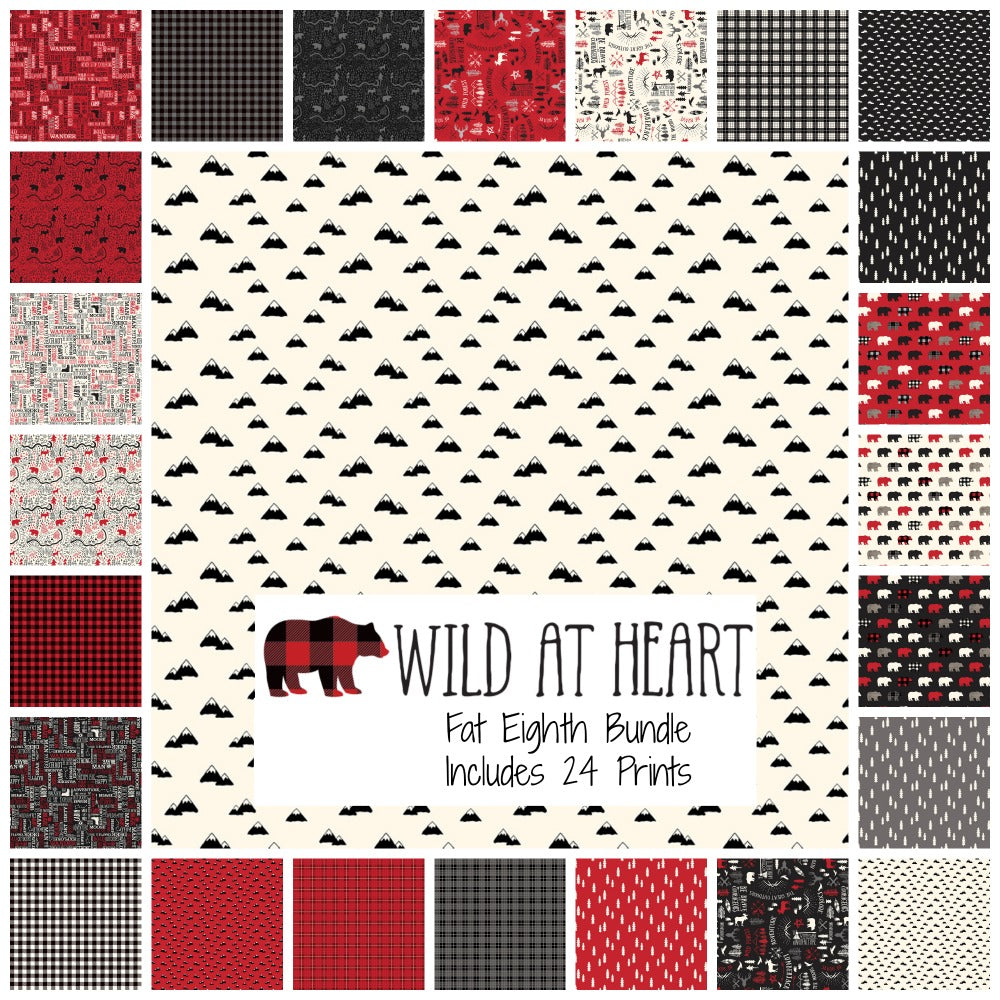 Wild at Heart Fat Eighth Bundle - brewstitched.com