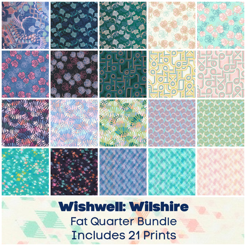Wishwell Wilshire Fat Quarter Bundle - Expected Sept 2021 - brewstitched.com
