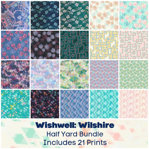 Wishwell Wilshire Half Yard Bundle - Expected Sept 2021 - brewstitched.com