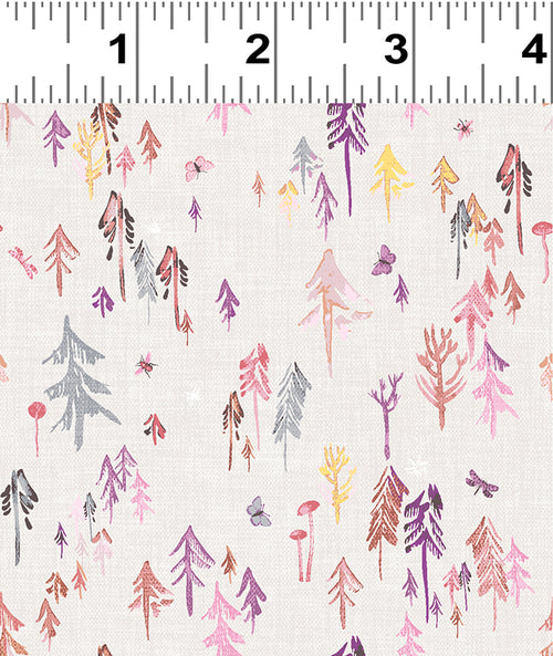 Forest Glade Blush Forest  - Priced by the Half Yard - Expected Feb 2021 - brewstitched.com