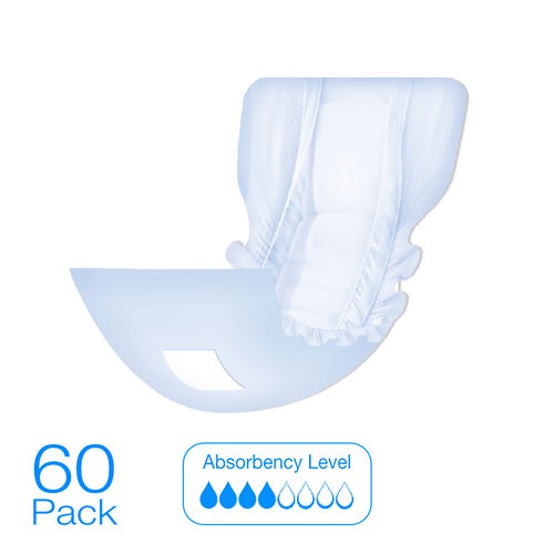 Allusive Flexi Incontinence Pad 60 Pack - Holistic Incontinence