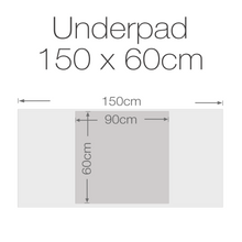Load image into Gallery viewer, Allusive Incontinence Underpad 60 Pack Medium 150cm x 60cm - Holistic Incontinence