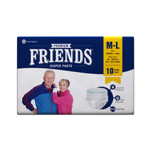 Load image into Gallery viewer, Friends Adult Pull-Ups Diaper (M-L) 10 Pack - Holistic Incontinence