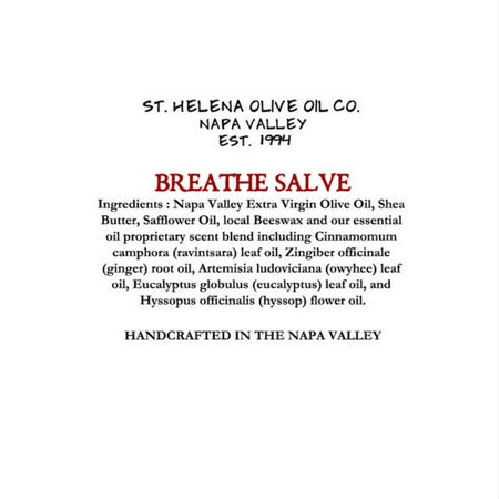 LIMITED PRODUCTION - BREATHE Salve
