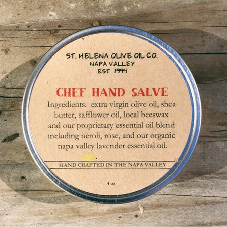 St. Helena Olive Oil Co. Chef Hand Salve