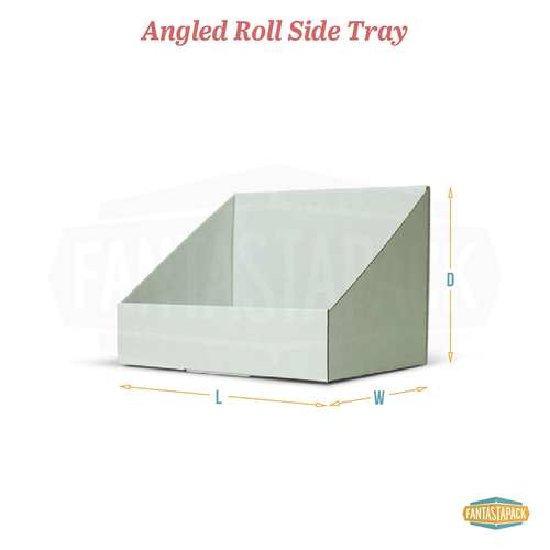 Angled Roll Side Tray