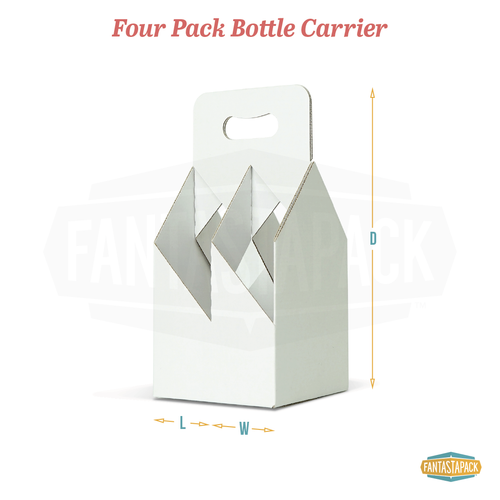 Four Pack Bottle Carrier