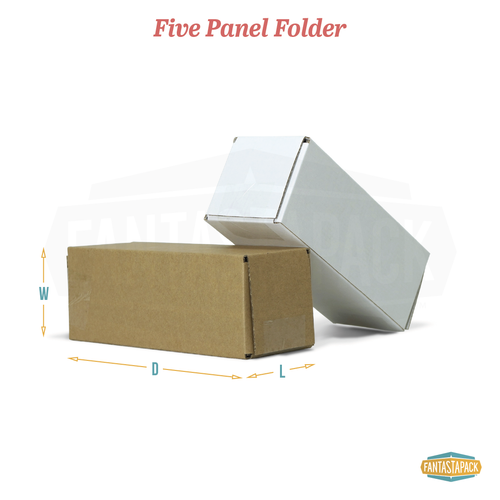 Five Panel Folder (5PF) Shipping Box