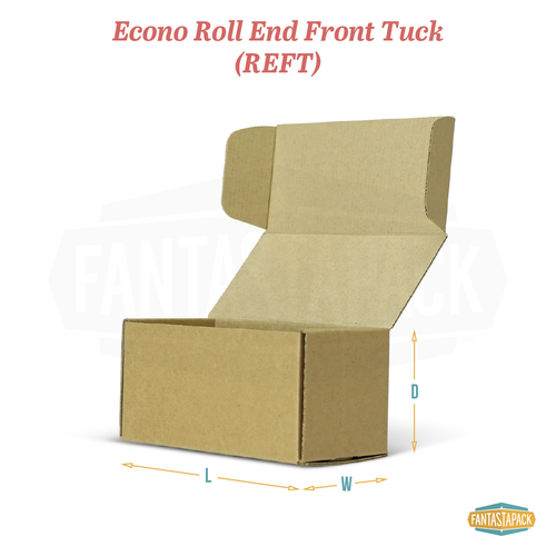 Econo Roll End Front Tuck (REFT) Mailer