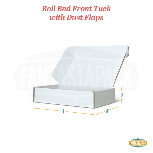 Roll End Front Tuck with Dust Flaps