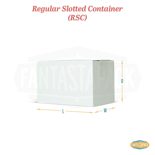 Regular Slotted Container Shipping Box